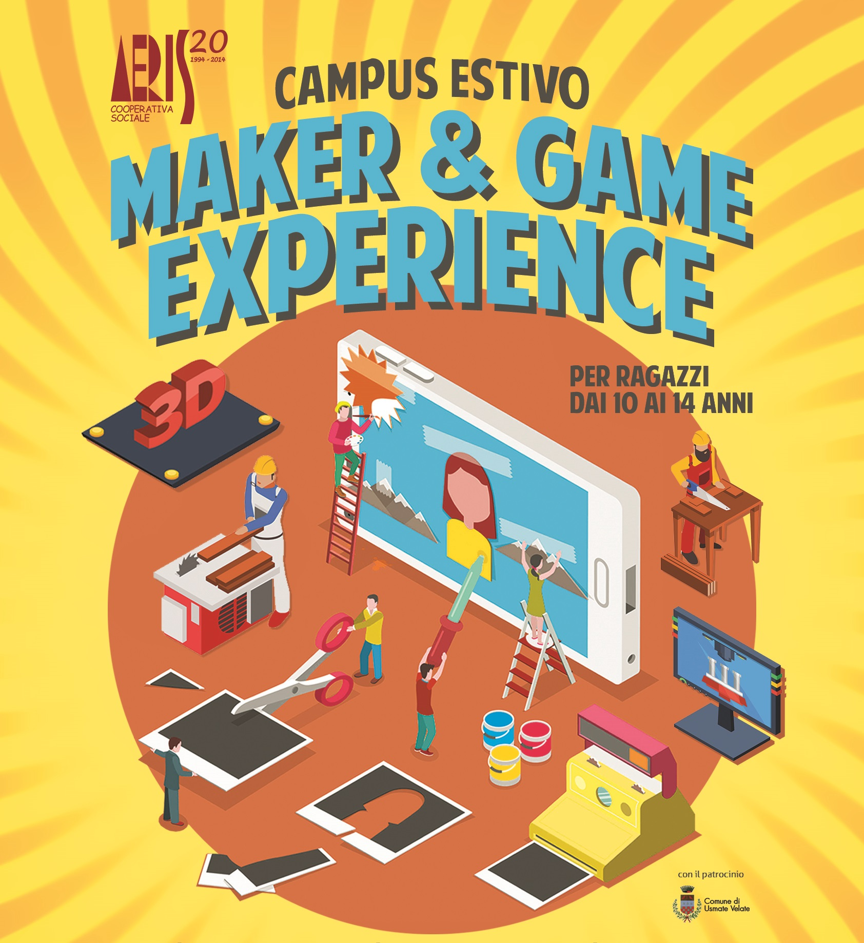 Maker e Game Exp Logo